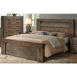 Charlie - Queen Bed - Charcoal Grey