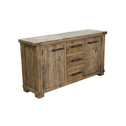 Industrial - Dresser, 6 Drawer - Weathered Pine