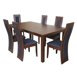 Monte Cristo/Monaco 7pc - Dining Suite - Vic Oak