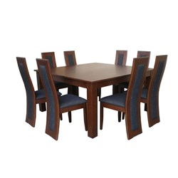Monte Cristo/Monaco 9pc - Dining Suite - Vic Oak