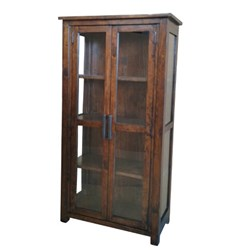 Farmhouse - Display Cabinet - Tuscan Chestnut