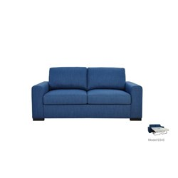 Globe - 2.5 Seater Sofa Bed - Diamond/Licorice