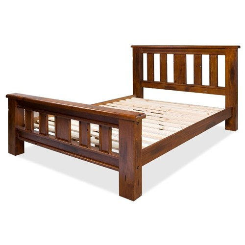 Albury - Queen Bed - Pine/Jamaica