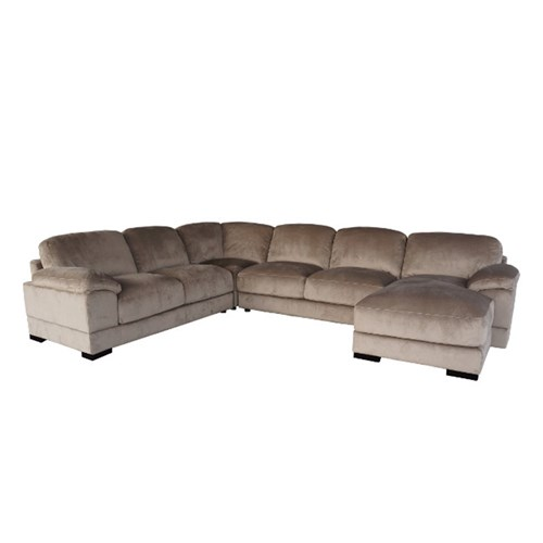 Evolution - 3 Seater - Chocolate